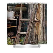 Hand Truck Of The Past Shower Curtain