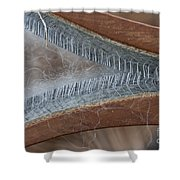 Hand Woolcarder Shower Curtain by Wilma  Birdwell