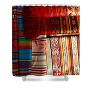 Hand Woven Table Cloths Shower Curtain