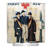 Handbook: First Aid Shower Curtain