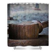 Handle Bar Shower Curtain