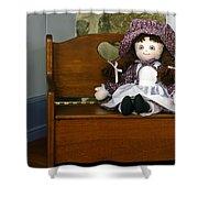 Handmade Cloth Doll Shower Curtain