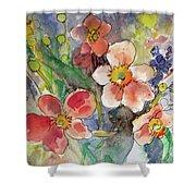 Handpicked Bouquet No. 2 Shower Curtain