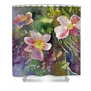 Handpicked Farmers Bouquet Shower Curtain