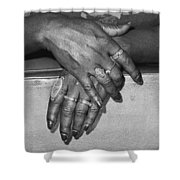 Hands Shower Curtain