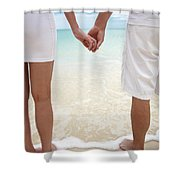 Hands Joined Shower Curtain