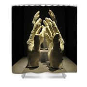 Hands Of Apollo Shower Curtain by David Lee Thompson
