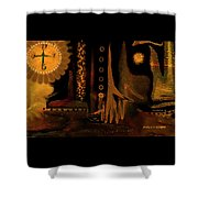 Hands Of Time Shower Curtain