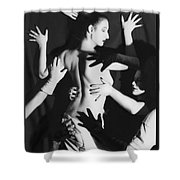 Hands Upon Me Shower Curtain