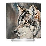 Handsome Wolf Shower Curtain
