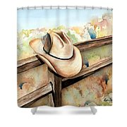 Hang Em High Shower Curtain
