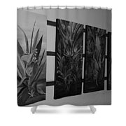 Hanging Art Shower Curtain