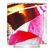 Hanging Beauty 1 Shower Curtain