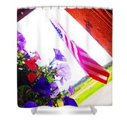 Hanging Beauty 2 Shower Curtain