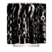 Hanging Chains Shower Curtain
