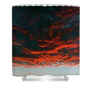 Hanging Clouds Shower Curtain