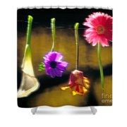 Hanging Flowers Shower Curtain