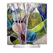 Hanging Fruit Shower Curtain
