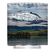 Hanging Glacier Shower Curtain