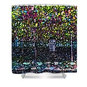 Hanging Grapevines Shower Curtain