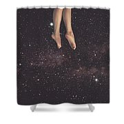 Hanging In Space Shower Curtain