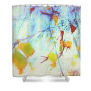 Hanging Leaves Shower Curtain