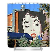 Hanging Out With Elizabeth Taylor Shower Curtain