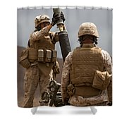 Hanging Rounds Shower Curtain