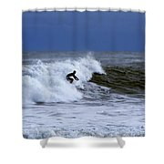 Hanging Ten In New England Shower Curtain