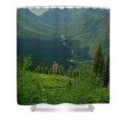 Hanging Valley Shower Curtain