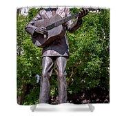 Hank Williams Statue - Montgomery Alabama Shower Curtain