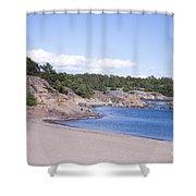 Hanko Beach Shower Curtain