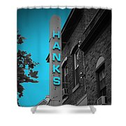 Hanks Oyster Bar Shower Curtain