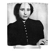 Hannah Arendt (1906-1975) Shower Curtain