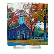Hanover Church - Fall Shower Curtain