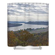 Hanover College View Shower Curtain