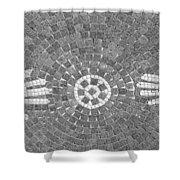 Hans Mosaic Shower Curtain