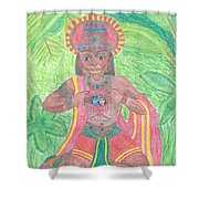 The Bhakta Shower Curtain