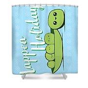 Happea Holidays Shower Curtain