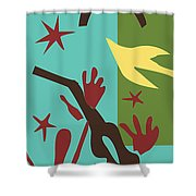 Happiness - Celebrate Life 4 Shower Curtain