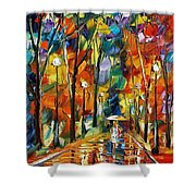 Happiness From Nature Shower Curtain