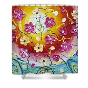 Happiness Shower Curtain