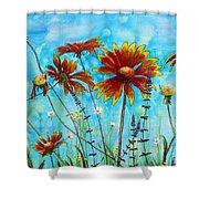 Happy Blanket Shower Curtain