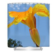 Happy Canna Shower Curtain