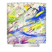 Happy Chaos Shower Curtain
