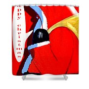 Happy Christmas 15 Shower Curtain