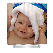 Happy Contest 7 Shower Curtain