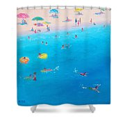 Happy Days At The Seaside Shower Curtain
