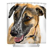 Happy Ears Shower Curtain