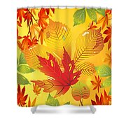 Happy Fall-jp2760 Shower Curtain